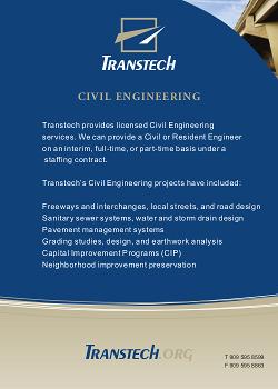 Civil Engineering Services Brochure